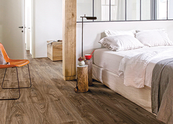 The Quick-Step Livyn's collection ... resembling natural wood.