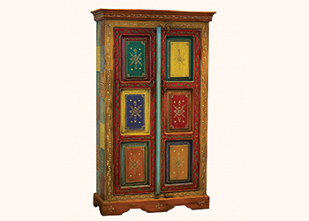 A wooden cabinet ... from United Furniture.