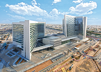 Hilton Riyadh Hotel and Residence ...fast nearing structural completion.