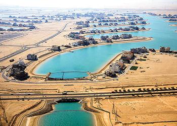 Sabah Al Ahmad Sea City ... UGCC close to completing its work.