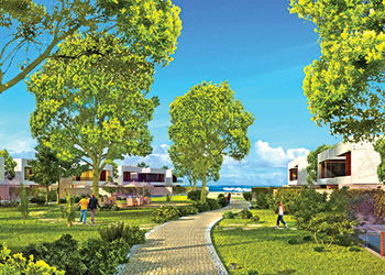 Hidd Saadiyat ... 20 per cent of the masterplan allocated to green areas.