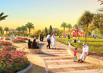 Samaya will have lush green open areas.