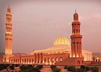 The Sultan Qaboos Grand Mosque ... a key project for Al Ansari.