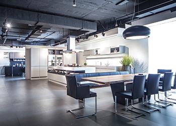 Kitchen & Beyond ... 8,574-sq-ft showroom.