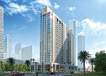Bellevue Towers ... striking views
