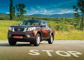 Nissan's all-new Navara ... combines modernity with toughness.
