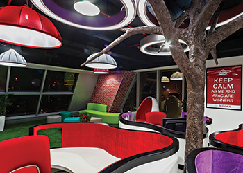 Redknee office in Dubai ... done by First Ferry.