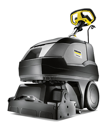 Karcher's BRC 40/22 carpet cleaner.