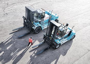 C series lift trucks models.