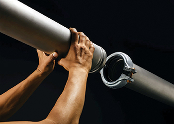 The StrengThin 100 system ... grooved mechanical solution for joining thin wall stainless steel pipes.