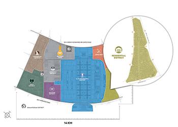 Dubai South ... masterplan.