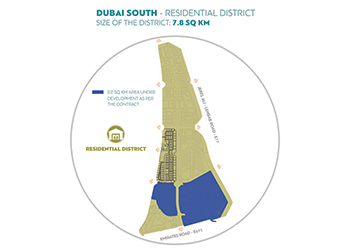The Residential District masterplan.