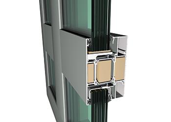 The CS 77-FP EI60 composite window type.