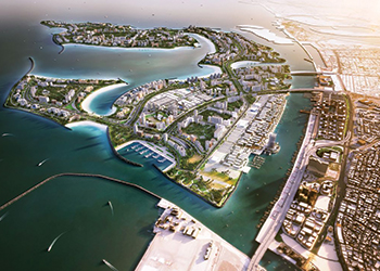 Work has started on the 20-tower community at Deira Islands.
