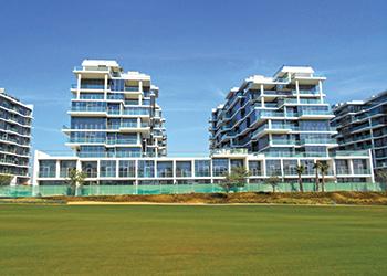 Golf-view apartments at Akoya by Damac.