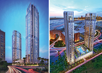 Ibn Battuta Residences ... 531 luxury apartments.