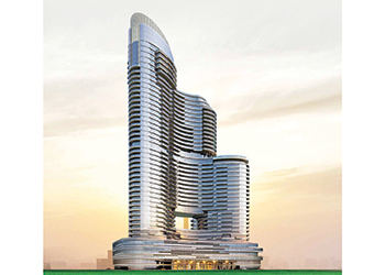 Imperial Avenue ...  424 luxury apartments.