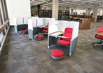 Brody WorkLounge ... its adjustable work surface holds technology at eye level.