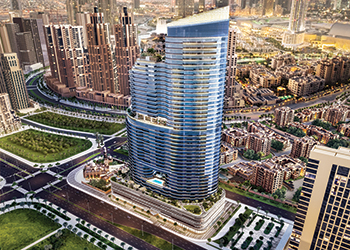 Imperial Avenue ... 45-storey luxury tower.