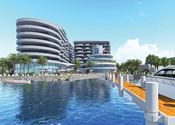 Residence Sharq ... located within the $1.6-billion Dilmunia project.