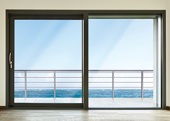 Savio's lift-and-slide door systems ... offer expansive views.