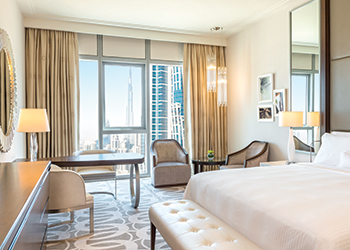 The Westin Dubai, Al Habtoor City ... guestrooms have an air of tranquillity.