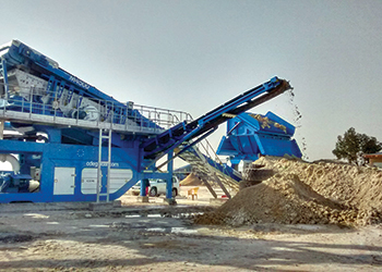 The CDE M4500 plant at Al Ourifan in Kuwait.