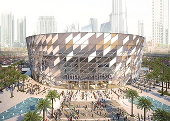 Dubai Arena ... will be able to seat 20,000.