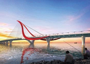 The fourth Muharraq bridge ... will link Bahrain Bay with Busaiteen.