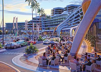 Mega developments ... the $80-million Layyan, part of the $1.3-billion Durrat Marina.