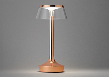 A lamp from the Bon Jour collection.