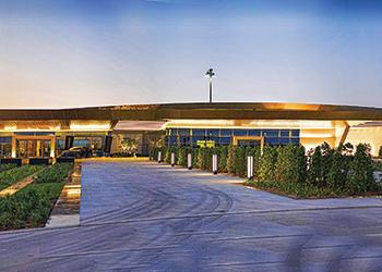 The 5,600-sq-m VIP Terminal ... at Dubai South.