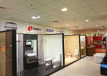 Almeer Trading's showroom in Muharraq ... being expanded.