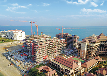 Serenia on Palm Jumeirah ... structurally complete.