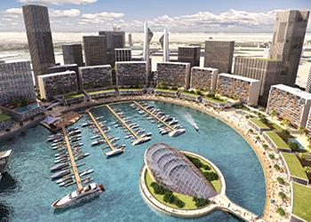 The Water Garden City concept.