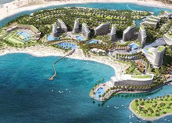 Mina Al Arab ... to host the new resort.