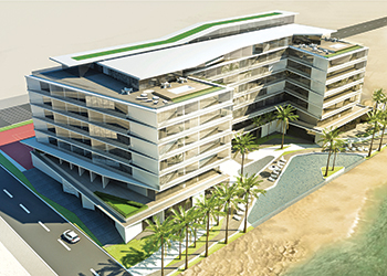 The new property is located on The Palm Jumeirah.