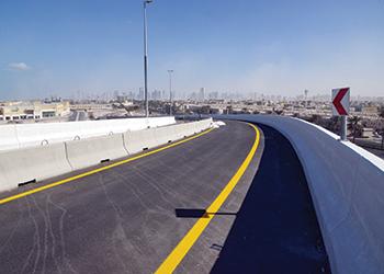 Deira Islands access bridge ... now open.