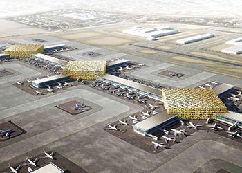 Al Maktoum International Airport ... set for expansion.