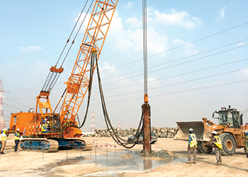 Bauer will carry out improvement works at Yas Acres, Abu Dhabi.