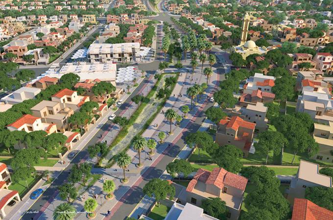 Al Taleh Gardens ... five-phase development.