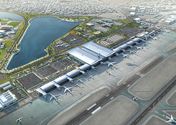 Bahrain Airport ... currently being expansion.