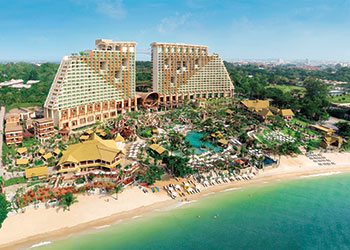 Centara Grand in Pattaya, Thailand ... Deira islands to get the region's first Centara resort.