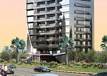 Champions Tower 2 ... one of Shaikhani's projects set for delivery shortly.