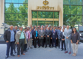Balexco's officials and participants at the workshop.