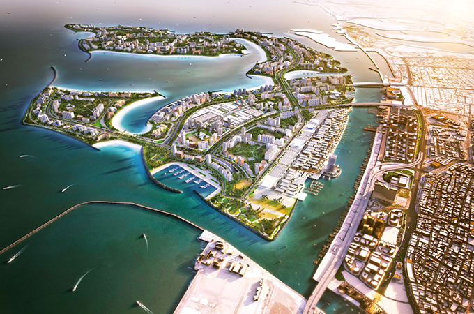 Deira Islands ... to host the 22-tower Deira Islands Boulevard.