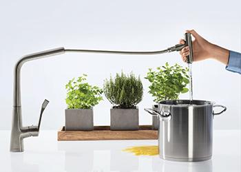The Metris kitchen mixer.