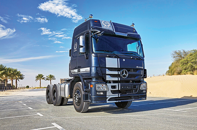 Actros ... 20 years edition.