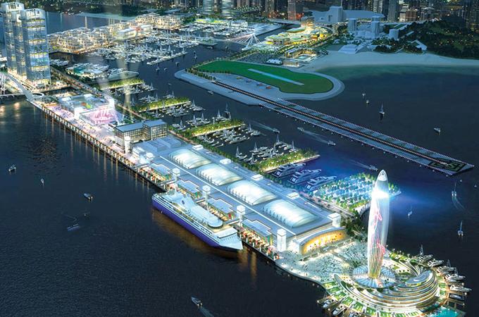 Dubai Harbour ... spread over 20 million sq ft.