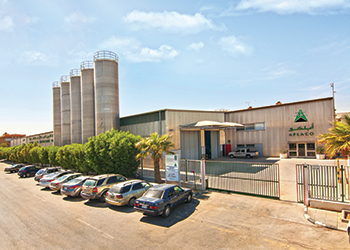 Aplaco's facilities … the company is manufacturing almost to capacity.
